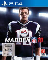 Hier klicken, um das Cover von Madden NFL 18 (PS4) zu vergrößern