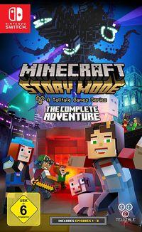 Hier klicken, um das Cover von Minecraft Story Mode - The Complete Adventure (Switch) zu vergrößern