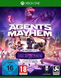 Hier klicken, um das Cover von Agents of Mayhem - Day One Edition (Xbox One) zu vergrößern