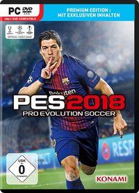 Hier klicken, um das Cover von PES 2018 (PC) zu vergrößern