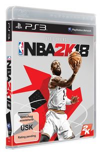 Hier klicken, um das Cover von NBA 2K18 (PS3) zu vergrößern