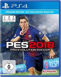 Hier klicken, um das Cover von PES 2018 (PS4) zu vergrößern
