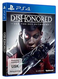 Hier klicken, um das Cover von Dishonored: Der Tod des Outsiders (PS4) zu vergrößern