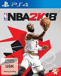Hier klicken, um das Cover von NBA 2K18 (PS4) zu vergrößern