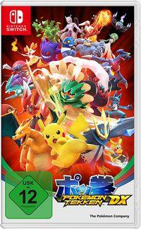 Hier klicken, um das Cover von Pokémon Tekken DX (Switch) zu vergrößern