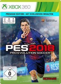 Hier klicken, um das Cover von PES 2018 (Xbox 360) zu vergrößern