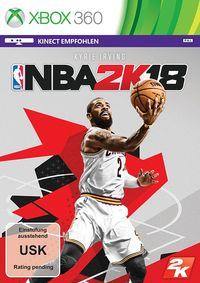 Hier klicken, um das Cover von NBA 2K18 (Xbox 360) zu vergrößern