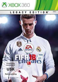 Hier klicken, um das Cover von FIFA 18 (Xbox 360) zu vergrößern