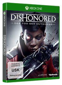 Hier klicken, um das Cover von Dishonored: Der Tod des Outsiders (Xbox One) zu vergrößern