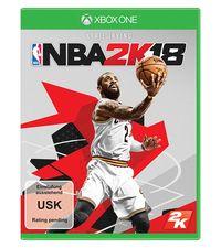 Hier klicken, um das Cover von NBA 2K18 (Xbox One) zu vergrößern