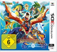 Hier klicken, um das Cover von Monster Hunter Stories (3DS) zu vergrößern