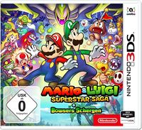 Hier klicken, um das Cover von Mario & Luigi: Superstar Saga + Bowsers Schergen (3DS) zu vergrößern