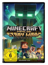 Hier klicken, um das Cover von Minecraft Story Mode - Season 2 Pass  zu vergrößern