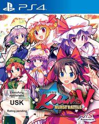 Hier klicken, um das Cover von Touhou Kobuto V - Burst Battle (PS4) zu vergrößern