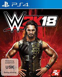 Hier klicken, um das Cover von WWE 2K18 - Standard Edition (PS4) zu vergrößern