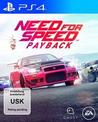 Hier klicken, um das Cover von Need for Speed - Payback (PS4) zu vergrößern