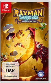 Hier klicken, um das Cover von Rayman Legends - Definitive Edition (Switch) zu vergrößern