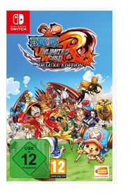 Hier klicken, um das Cover von One Piece Unlimited World Red - Deluxe Edition - (Switch) zu vergrößern