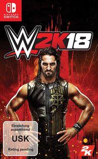 Hier klicken, um das Cover von WWE 2K18 - Standard Edition (Switch) zu vergrößern