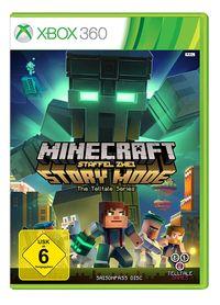 Hier klicken, um das Cover von Minecraft Story Mode - Season 2 Pass Disc Standard (Xbox 360) zu vergrößern
