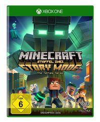 Hier klicken, um das Cover von Minecraft Story Mode - Season 2 Pass Disc Standard (Xbox One) zu vergrößern