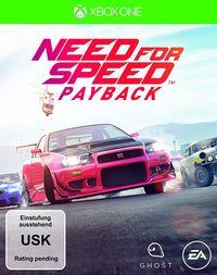 Hier klicken, um das Cover von Need for Speed - Payback (Xbox One) zu vergrößern