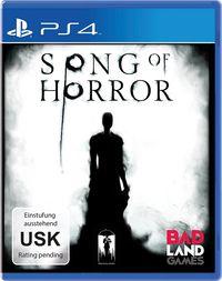Hier klicken, um das Cover von Song of Horror (Ps4) zu vergrößern