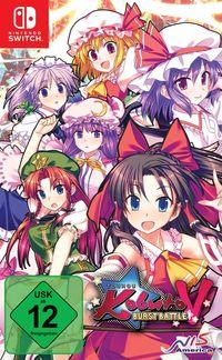 Hier klicken, um das Cover von Touhou Kobuto V - Burst Battle (Switch) zu vergrößern