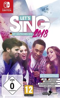 Hier klicken, um das Cover von Let's Sing 2018 mit Deutschen Hits (Switch) zu vergrößern