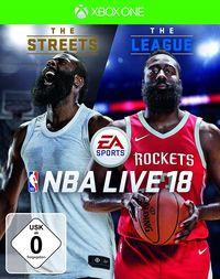 Hier klicken, um das Cover von NBA LIVE 18: The One Edition (Xbox One) zu vergrößern