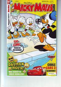 Hier klicken, um das Cover von Micky Maus 33/2017 zu vergrößern