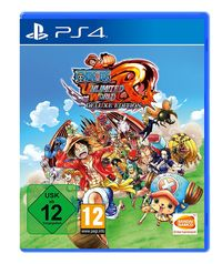 Hier klicken, um das Cover von One Piece Unlimited World Red - Deluxe Edition - (PS4) zu vergrößern