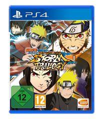 Hier klicken, um das Cover von Naruto Shippuden: Ultimate Ninja Storm Trilogy (Ps4) zu vergrößern