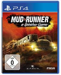 Hier klicken, um das Cover von Spintires: MudRunner (PS4) zu vergrößern