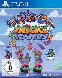 Hier klicken, um das Cover von Tricky Towers (PS4) zu vergrößern