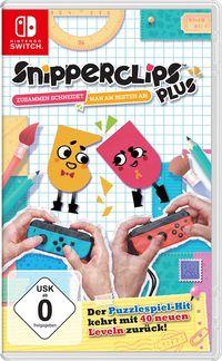 Hier klicken, um das Cover von Snipperclips Plus - Zusammen schneidet man am besten ab! (Switch) zu vergrößern