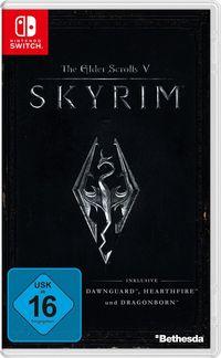 Hier klicken, um das Cover von The Elder Scrolls: Skyrim (Switch) zu vergrößern