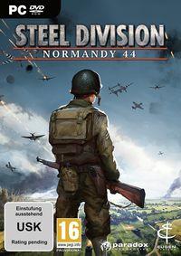 Hier klicken, um das Cover von Steel Division: Normandy 44 (PC) zu vergrößern