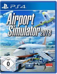 Hier klicken, um das Cover von Airport Simulator 2018 (PS4) zu vergrößern