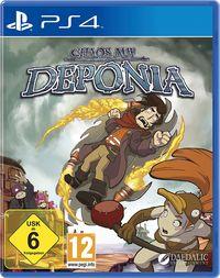 Hier klicken, um das Cover von Chaos auf Deponia (PS4) zu vergrößern