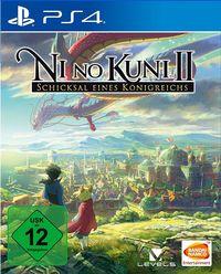 Hier klicken, um das Cover von Ni No Kuni 2: Schicksal eines Koe~nigreichs (PS4) zu vergrößern