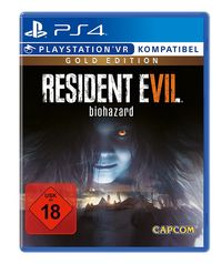 Hier klicken, um das Cover von Resident Evil 7 Gold Edition (PS4) zu vergrößern
