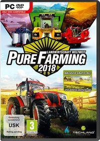 Hier klicken, um das Cover von Pure Farming 2018 - Landwirtschaft weltweit - D1 Edition (PC) zu vergrößern