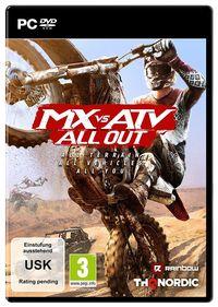 Hier klicken, um das Cover von MX vs. ATV All Out (PC) zu vergrößern