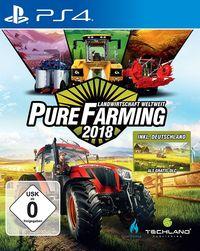 Hier klicken, um das Cover von Pure Farming 2018 - Landwirtschaft weltweit - D1 Edition (PS4) zu vergrößern