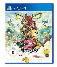 Hier klicken, um das Cover von Wonder Boy: The Dragon's Trap (PS4) zu vergrößern