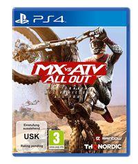 Hier klicken, um das Cover von MX vs. ATV All Out (PS4) zu vergrößern