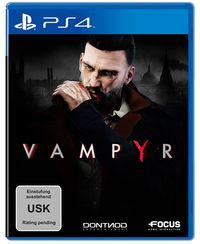 Hier klicken, um das Cover von Vampyr (PS4) zu vergrößern