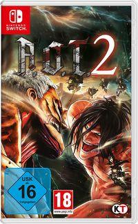Hier klicken, um das Cover von AoT 2 (based on Attack on Titan) (Switch) zu vergrößern