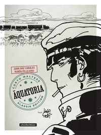Hier klicken, um das Cover von Corto Maltese 14 – AE~quatoria (s/w) zu vergrößern